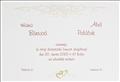 S128 Prehľad svadobných oznámení
