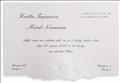 S140 Prehľad svadobných oznámení