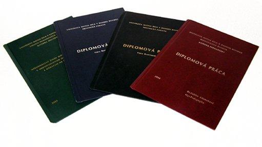 dp Viazanie diplomových prác a kníh